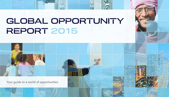 Global Opportunity Report 2015 cover - linktile