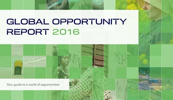 Global Opportunity Report 2016 cover