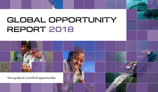 Global Opportunity Report 2018 cover