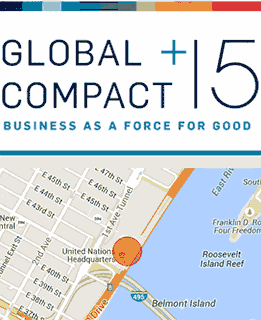 Global compact - business as a force for good
