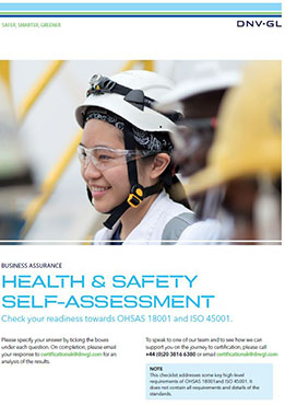 Health and Safety Self Assessment