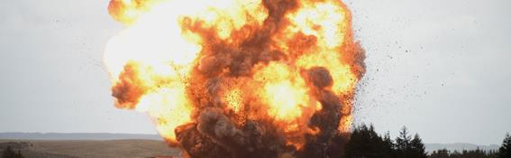 Large-scale explosion test performed at DNVG GL's Spadeadam Testing and Research facilities