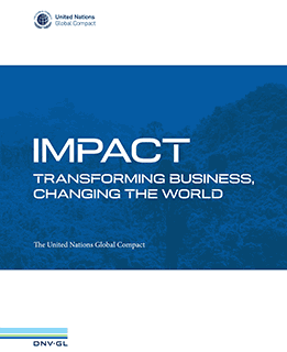 UN Global Compact - Impact report cover 261x320pxl