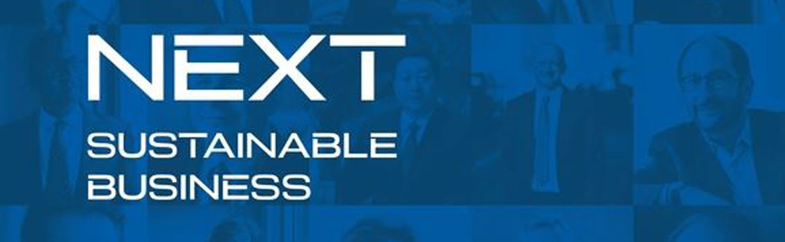 Cover of NEXT: Sustainable Business